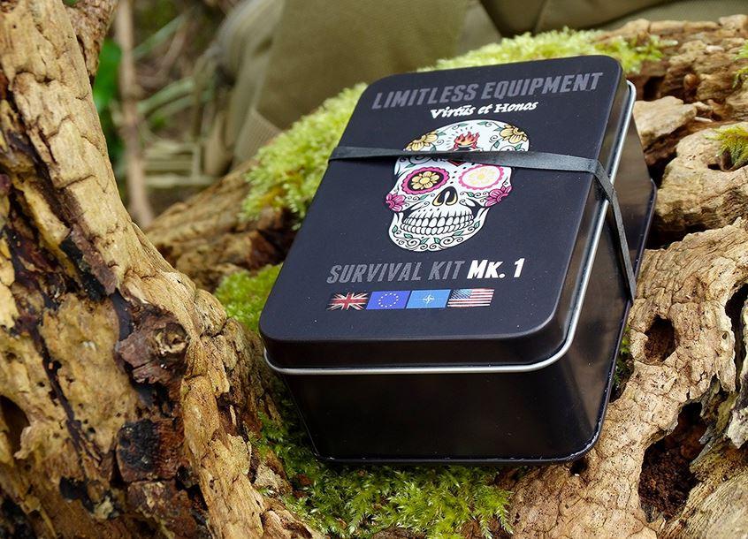 Kit di sopravvivenza multiuso equipaggiamento survival UK