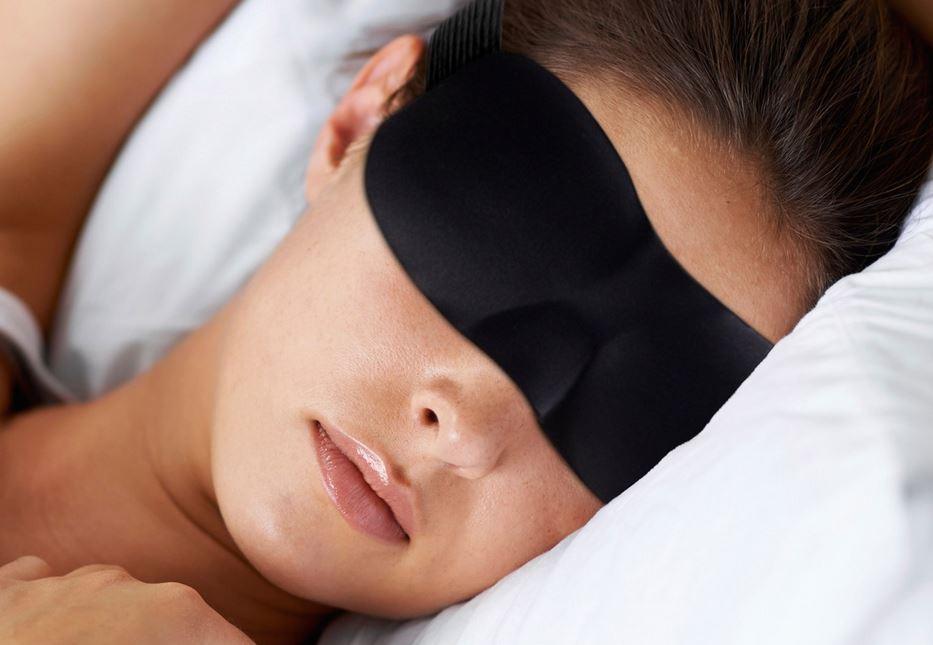 Mascherina per dormire maschera per occhi da viaggio