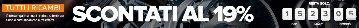 Ricambi auto online sconto prezzo countdown