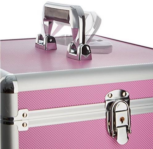 Valigia nail art ricostruzione unghie - beauty case con maniglia