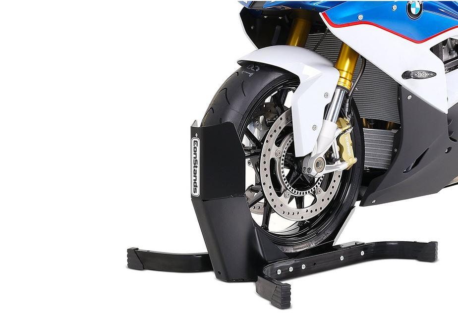 Bloccaruota moto per trasporto – bloccamoto