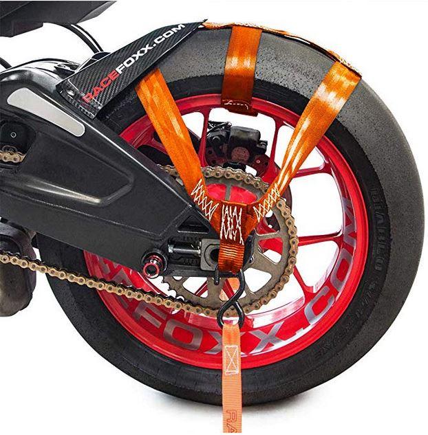 Cinghia trasporto moto ruota posteriore