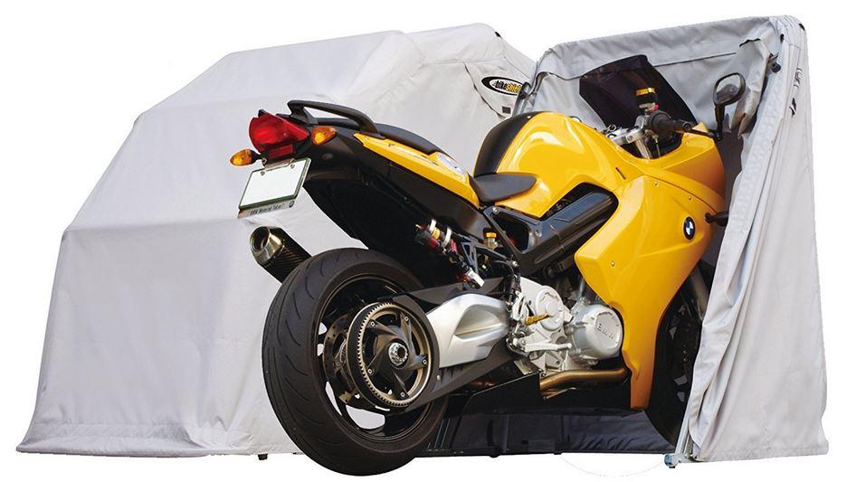 Garage pieghevole moto - tendone protettivo box