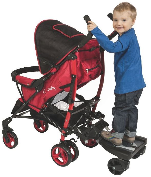 Pedana porta bambino con seduta in piedi