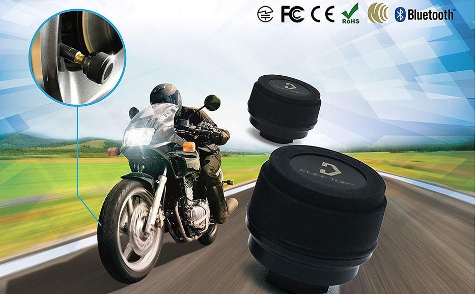 TPMS Sistema monitoraggio pressione pneumatici moto