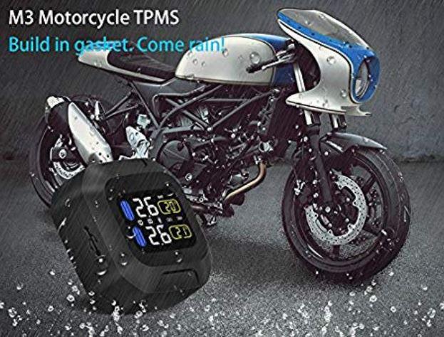 TPMS pressione per moto da strada e da pista