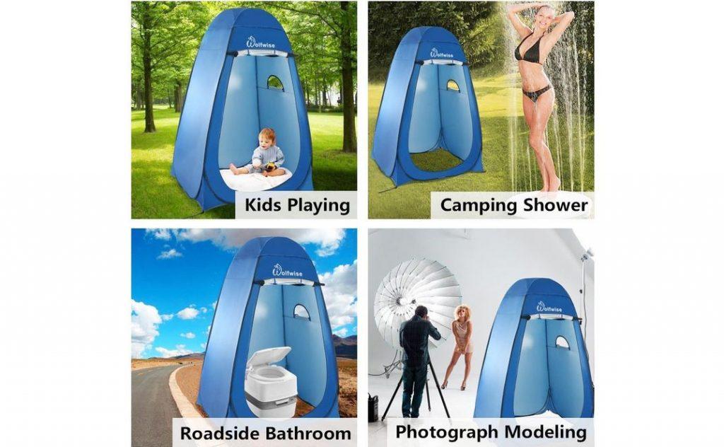 Tenda doccia campeggio