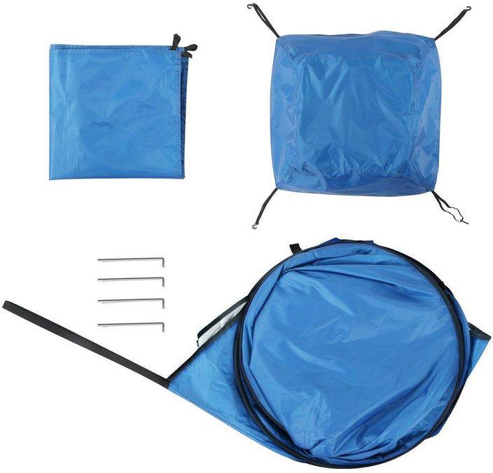 Tenda doccia campeggio portatile doccia solare